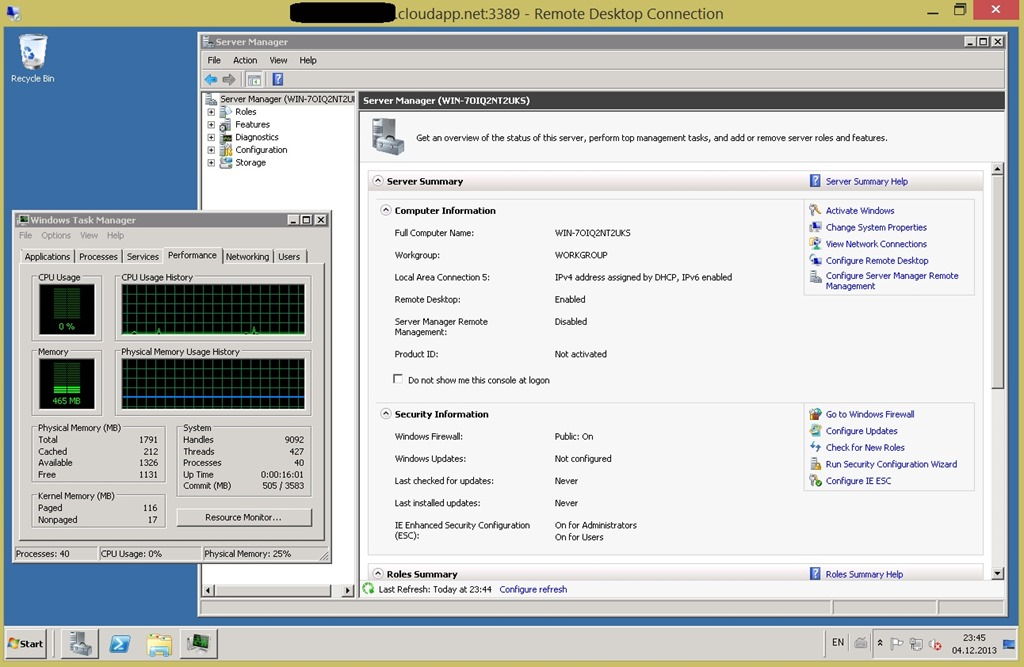 Migrate your VMware VM to Windows Azure in 30 Minutes