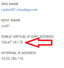 Convert Existing Dynamic VIP to Reserved IP Addresses in
