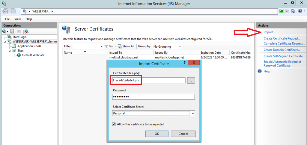 Hosting Multiple SSL Sites in Azure VMs - Carsten Lemm