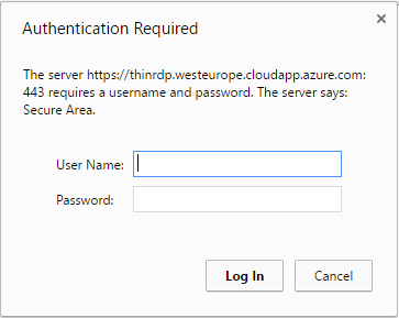 Access your Azure VMs through a Web Browser with ThinRDP